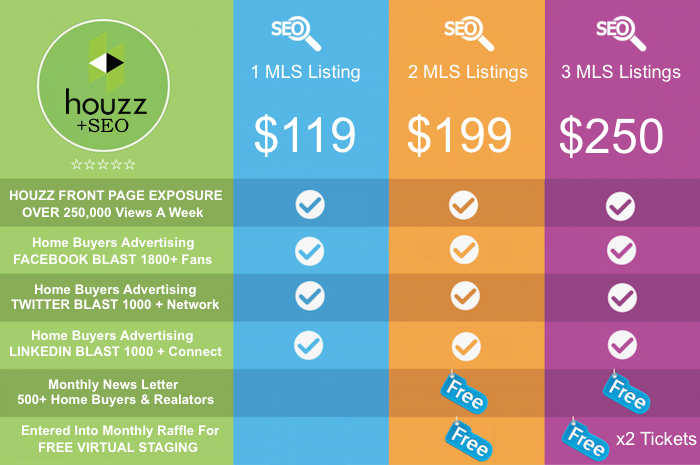 HOuzee Pricing SEO